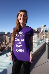 Keep Calm - Women's Purple
